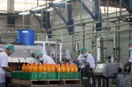 ارتفاع الرقم القياسي للإنتاج الصناعي بفلسطين خلال أيلول