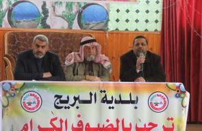 بلدية البريج تنظم لقاء مع لجان الأحياء