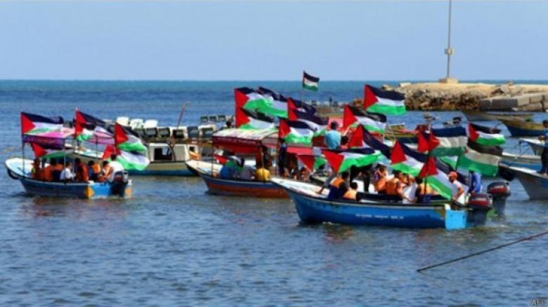 الإعلان عن حراك بحري تاسع شمالي غزة الاثنين