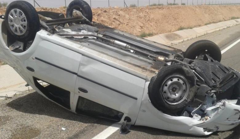 مصرع مواطن بحادث سير ذاتي في مدينة غزة