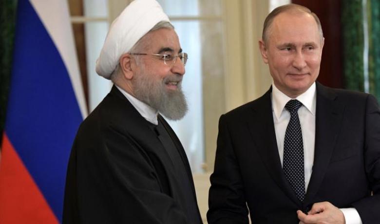 بوتين وروحاني يبحثان أزمة سوريا والتعاون الثنائي