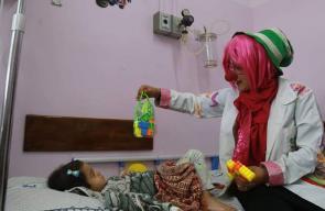 أول مهرجة فلسطينية من مدينة غزة