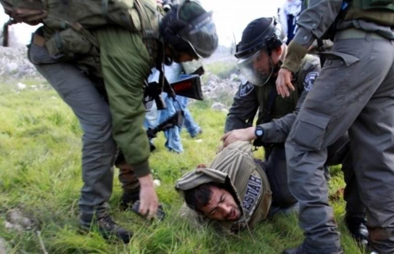 إصابة شاب واعتقال 7 خلال مواجهات مع الاحتلال في جنين