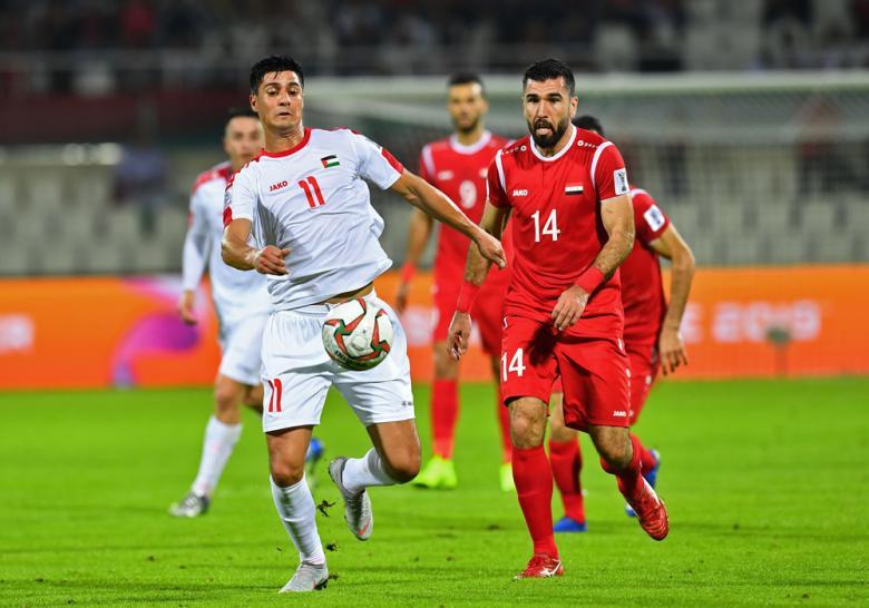 فلسطين تفرض التعادل على سوريا في كأس آسيا 2019