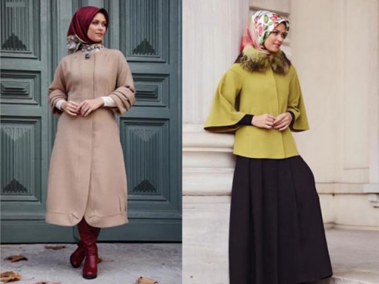 91aabc51885f9 أزياء خاصة بالمحجّبات خلال فصل الشتاء - فلسطين الآن