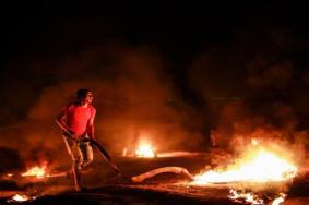"""إصابات برصاص الاحتلال في فعاليات """"الإرباك الليلي"""""""