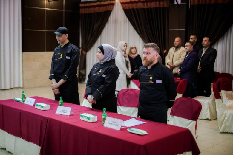 افتتاح أول مسابقة لهواة الطهي في قطاع غزة