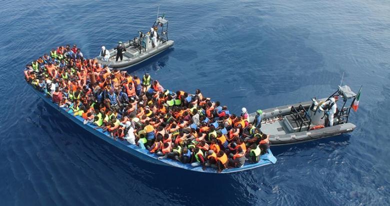 خفر السواحل التركية تطلق عملية ببحر إيجة لإنقاذ مهاجرين