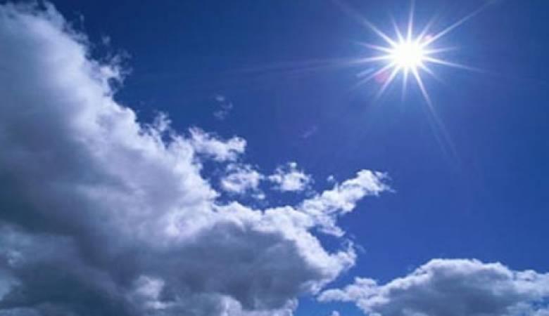 الطقس : أجواء صيفية والحرارة أدني من معدلاتها السنوية