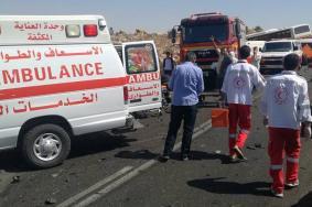 مصرع 6 فلسطينيين في حادث سير مروع برام الله