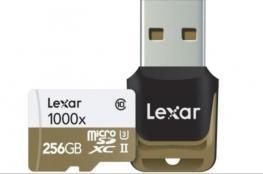 ليكسار تطلق بطاقة ذاكرة جديدة لكاميرات الأكشن