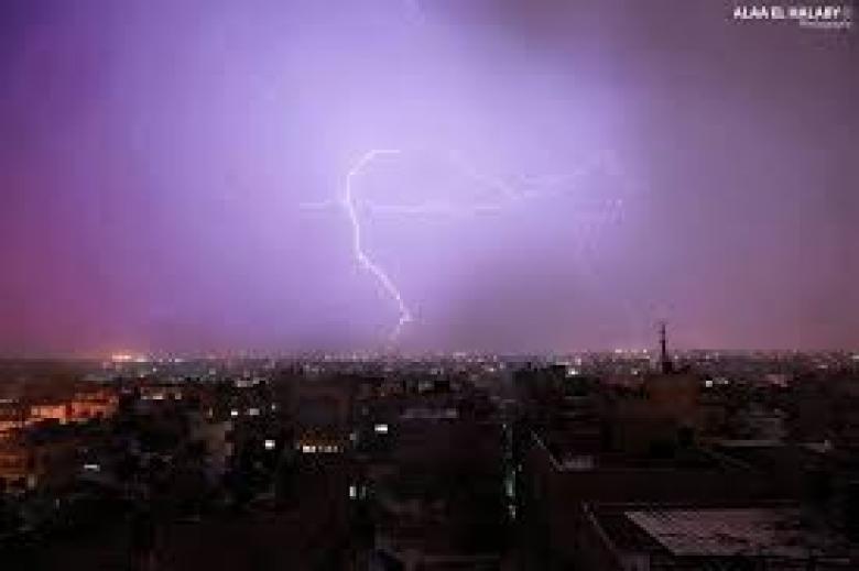 عاصفة مطرية قادمة ولقطاع غزة نصيب كبير