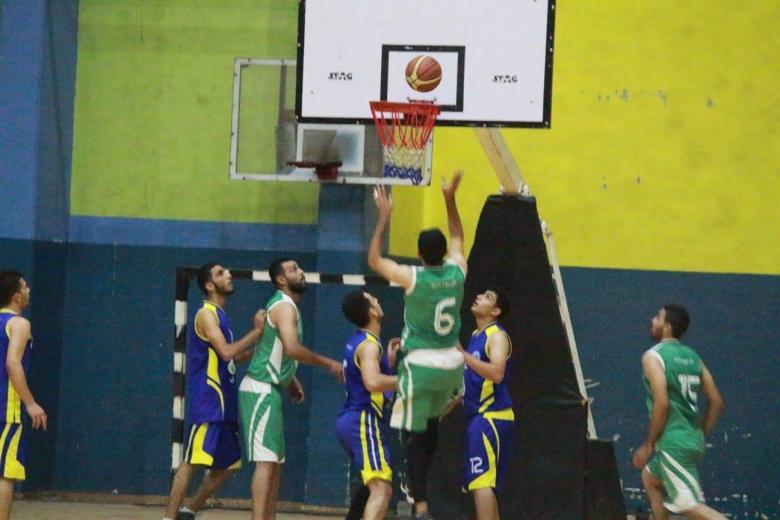 خدمات رفح يحقق فوزاً كبيراً في دوري السلة