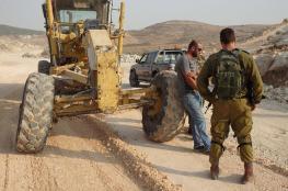 الاحتلال يصادر مركبة وخراطيم مياه في طوباس