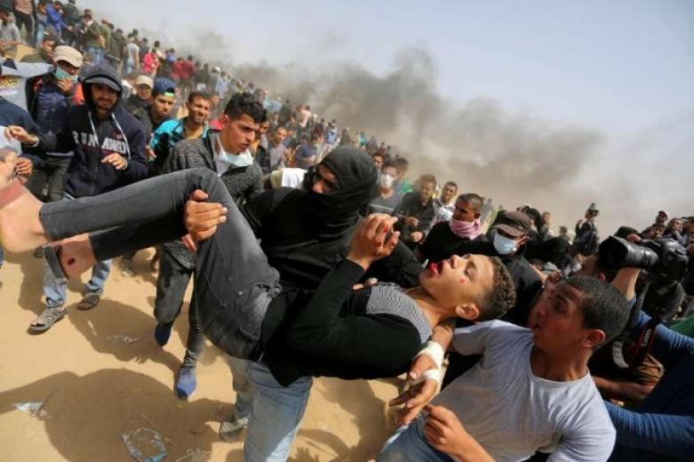 الميزان: الاحتلال قتل 156 مواطنا منذ انطلاق مسيرة العودة