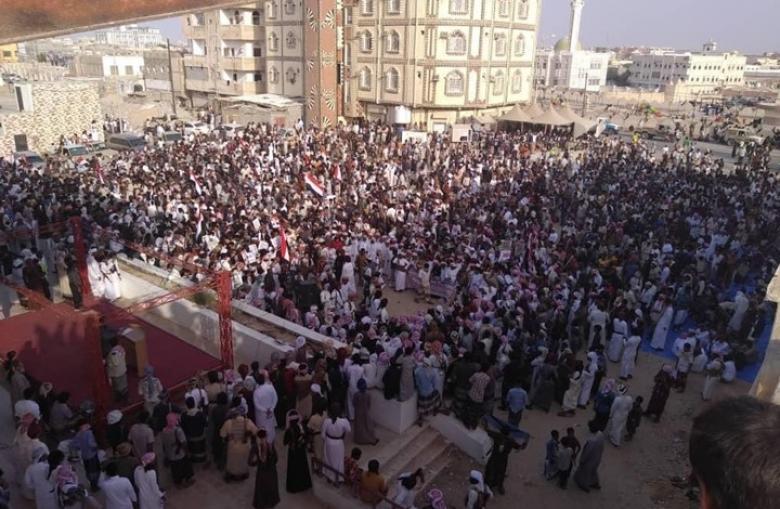 """احتجاجات تطالب برحيل القوات السعودية من """"المهرة"""""""