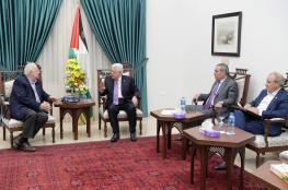 ماذا طلب عباس من رئيس لجنة الانتخابات المركزية؟