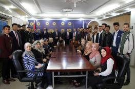 سلطة النقد تختتم برنامجاً تدريبياً لطلبة الجامعات والكليات بغزة