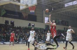 بالصور: خدمات المغازي يحقق فوزاً جديداً في دوري السلة