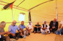 الاحتلال يُخطر بإزالة خيمة الاعتصام في القدس