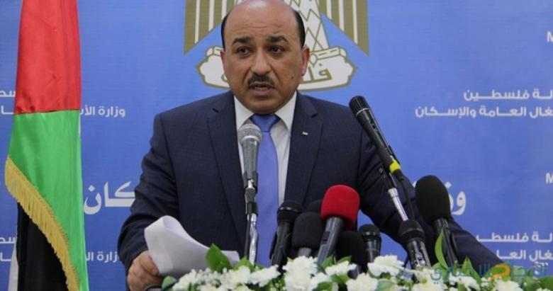 الحساينة: الكويت تحول (4.5) مليون دولار لمشاريع البنية التحتية في غزة