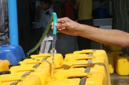 افتتاح مشروع مياه الشرب لسد احتياجات 11 قرية غرب جنين