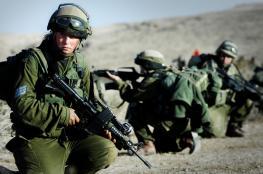 """تدريبات """"أمنية"""" موسعة لجيش الاحتلال في الضفة"""