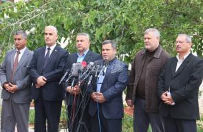 مؤتمر صحفي للفصائل بعد اجتماع حركة حماس