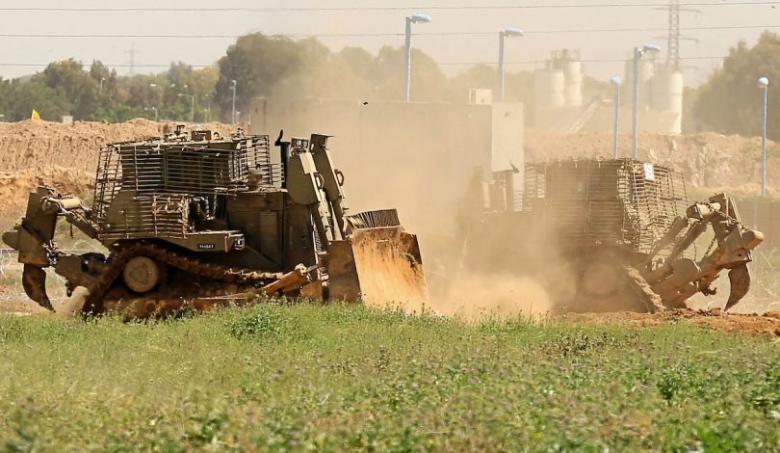 توغل إسرائيلي محدود شمال قطاع غزة