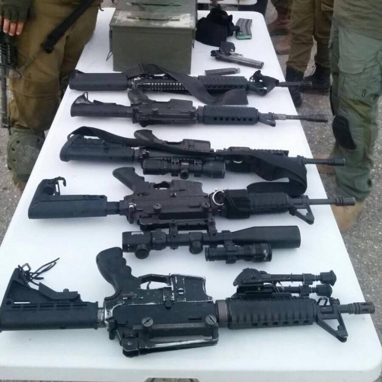 الاحتلال يزعم العثور على أسلحة خلال مداهمات الضفة