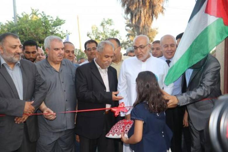 كلية فلسطين التقنية تفتتح المعرض التقني الأول