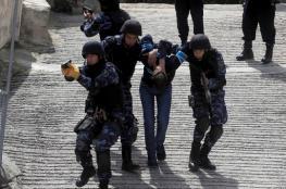تعرض قوة من الشرطة لإطلاق نار وسط نابلس