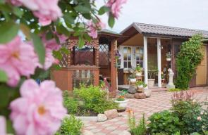 ديكور تنسيق حدائق منزلية خارجية