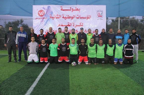 بلدية دير البلح تنظم بطولة المؤسسات الوطنية لكرة القدم