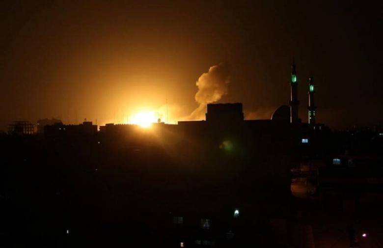 غارات إسرائيلية على أهداف بقطاع غزة