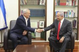 التوصل لتفاهمات مهمة بين نتنياهو وغانتس