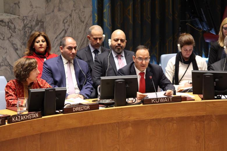 الكويت تنصف القضية الفلسطينية من جديد في مجلس الأمن