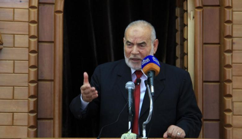 """بحر يدعو  للتوحد أمام سياسة ترامب الداعمة لـ""""إسرائيل"""""""
