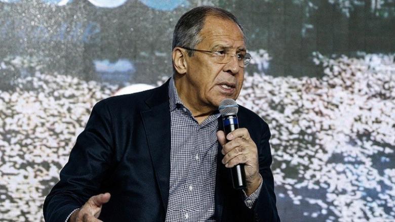لافروف: عدم معالجة المشكلة الفلسطينية يقوض أمن المنطقة