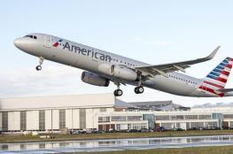 محرك طائرة أمريكية على متنها 104 أشخاص يتفتت خلال تحليقها