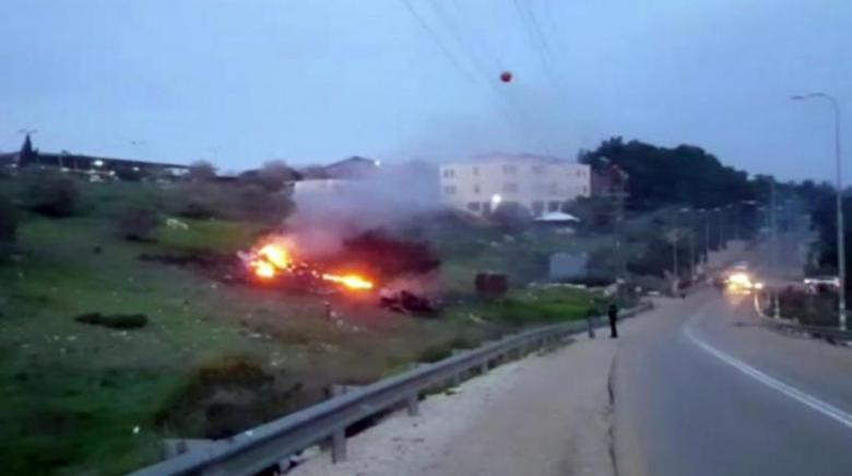 """جيش الاحتلال: """"الدرون"""" الإيرانية المُسقطة مقلدة من طائرة أميركية"""