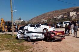 الشرطة تتلف 170 مركبة غير قانونية في نابلس