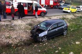 أريحا: مصرع طفل وإصابة 5 آخرين في حادث سير
