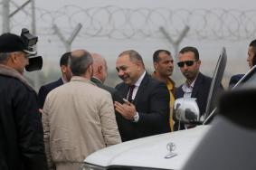 الوفد الأمني المصري يغادر القطاع عبر حاجز بيت حانون