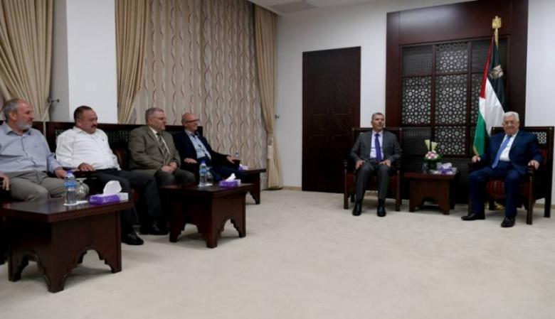 """نواب الضفة: قرار حل اللجنة الإدارية """"شجاع"""" وعلى عباس رفع عقوباته"""