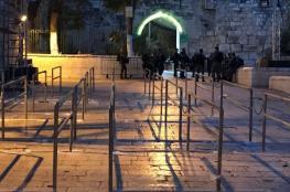 الاحتلال يشرع بتركيب كاميرات ذكية في الأقصى