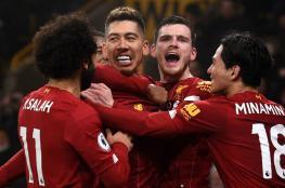 ليفربول يعزز موقعه في الصدارة بفوز مثير على وست هام
