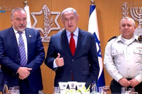 نتنياهو وليبرمان وآيزنكوت: مستعدون لكل السيناريوهات في غزة