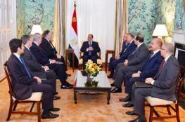 السيسي: مصر ستدعم أيّ حل عادل للقضية الفلسطينية