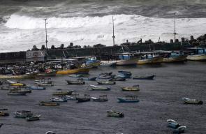 أجواء الشتاء بغزة